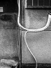 Street Fragments #263 - Osaka Daydream (Yoshi T. (kagirohi)) Tags: japan japanese osaka senbayashi blackwhite bw street streetphotograph streetphotography alley fragment urban city cityscape snapshot ricoh gr ricohgr 日本 大阪 千林 千林商店街 商店街 白黒 モノクローム モノクロ 路上 ストリート ストリートフォト 都市 風景 都市風景 スナップ スナップ写真 リコー 断片 blackandwhite monochrome depthoffield