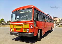 Biloli - Nanded (yogeshyp) Tags: msrtc maharashtrastatetransport msrtcparivartanbus bilolidepotbus bilolinandedstbus
