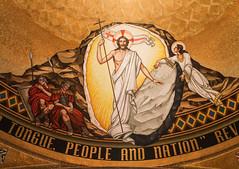 Easter Sunday I - Christ is Risen! (Lawrence OP) Tags: biblical resurrection easter mosaic jesuschrist risen emptytomb