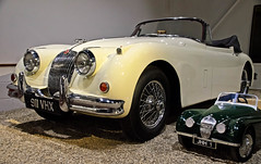 Haynes Motor Museum - 1959 Jaguar XK 150 DHC (David Cronin) Tags: haynesinternationalmotormuseum sparkford somerset jaguar xk xk150 dropheadcoupe