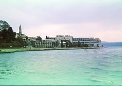 Hotel Complex St. Bernardin 97_068 (Andras, Fulop) Tags: slovenia anno 1997 colorslide positivefilm archive landscape town sea water