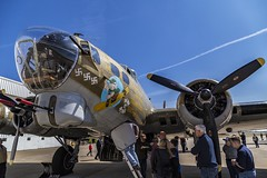 B-17 WWII Bomber (Kool Cats Photography over 8 Million Views) Tags: b17 flyingfortress bomber plane outdoor aircraft airshow