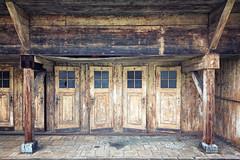 behind closed doors (ThomasMueller.Photography) Tags: abandoned changingcubicle decay doors holz lostplace marode türen ue umkleidekabine urbanexploration urbex verfall verlassen wood