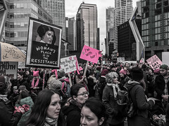 IMG_0201 (justine warrington) Tags: womens march womensmarch womensmarchonwashington washington pink pussy hats pinkpussyhat protest signs trump 45th presidential election january 21st 2017 potus resist resistance is fertile