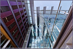 Amsterdam : Zuidas. (alamsterdam) Tags: amsterdam zuidas wtc architecture reflection sky colors
