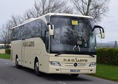 BG64UZV  P&O Lloyd, Bagillt (highlandreiver) Tags: bg64uzv bg64 uzv po lloyd bagillt wales welsh mercedes benz tourismo bus coach coaches gretna green scotland scottish