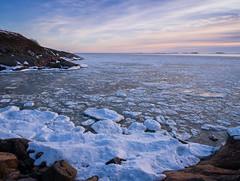 Meltdown (tinamar789) Tags: sea seascape ice melting meltdown spring snow seashore suomenlinna horizon helsinki finland