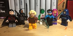 The Judas Contract (LordAllo) Tags: lego dc teen titans the judas contract brother blood deathstroke terra beast boy nightwing starfire raven