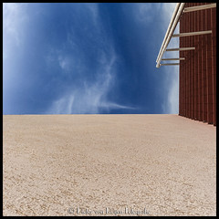 Swiveled stairs. (PvRFotografie) Tags: uae unitedarabemirates jebelhafeet alain square squareformat view vierkant sonyslta99 1224mm 12mm sigma1224mm sigma12244556