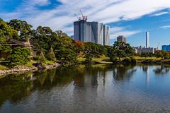 IMG_2486 (Evgeny Gorodetskiy) Tags: sunshine autumn garden landscape building travel cityscape outdoor weekend city park skyscrapper himarikiyu japan tokyo minatoku tōkyōto япония jp