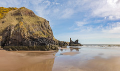 St Cyrus Beach (Mac ind Óg) Tags: spring beach stcyrusnationalnaturereserve aberdeenshire montrose walking reflection stcyrus scotland holiday landscape saintcyrus