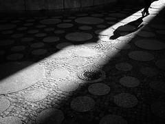 Dotted Ground (Hans-Jörg Aleff) Tags: berlin breitscheidplatz blackwhite dottedground shadow streetphotography deutschland