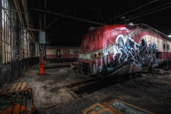 Trans-Europ-Express (digiartostelbien2) Tags: lostplaces urbanexploration industrie urbex ruine