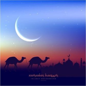 free vector download Ramadan Kareem greeting Card
