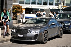 Bentley Continental Supersports - Switzerland, Geneva (Helvetics_VS) Tags: licenseplate switzerland geneva sportcars bentley continentalgt supersports