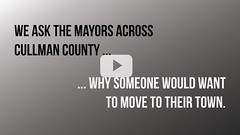 Mayors INTERVIEWS Why Move To Your Town? (cullmantoday) Tags: chickfila state our community cullman area chamber commerce visitor center county alabama donnis leath colony kenneth walker mayor chairman jerry bartlett good hope bill oliver holly pond kilgo west point nail hanceville woody jacobs