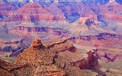 Grand Canyon S Rim (mark.aizenberg) Tags: red orange mountains nature travel outdoors canyon arizona desert landscape canon