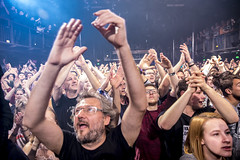 Amsterdam, The Netherlands  -16 April 2017: concert of Bosnian rock music band Dubioza Kolektiv at venue Melkweg -4 (CloudMineAmsterdam) Tags: dubiozakolektivmelkwegamsterdam amsterdam artists band concert concertlights crowd editorial electricguitar entertainment europe event gathering rock dub leisure lights loud music musician netherlands holland party people performance show singer vocals cheering audience happysmile fun hiphopreggae fan public