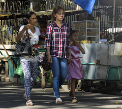 In Step (Beegee49) Tags: street walking ladies filipina girl silay city philippines streetphotography
