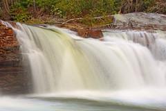 High Falls: Sheets of water (Shahid Durrani) Tags: high falls monongahela national forest cheat river waterfall west virginia