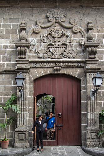 Casa Manila: Entrance