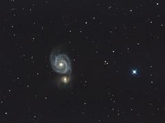 M51integration_ABE2_2400 (katushev) Tags: qhyccd qhy183c m51 galaxy deepsky deepspace astrometrydotnet:id=nova2048730 astrometrydotnet:status=solved