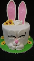 Bunny Cake (dragosisters) Tags: rabbit easter cake bunny
