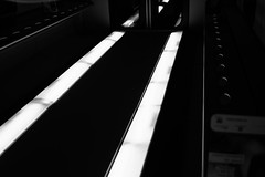 Light Path (coachgodzup1) Tags: blackandwhite monochrome light perspective door contrast silverefex path
