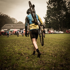 The Long Trudge Back (stoneleighboy) Tags: ayrshire rozelle ayrburners cyclocross sport bikes race cycling fitness