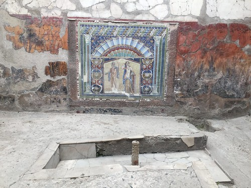 Pompeii and Herculaneum visits, Italy - April 2017