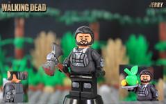 Custom LEGO The Walking Dead: Jerry (LegoMatic9) Tags: lego the walking dead jerry