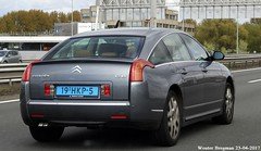 Citroën C6 2.2 HDi (2008) (XBXG) Tags: 19hkp5 citroën c6 22 hdi 2008 citroënc6 diesel a10 oost ring amsterdam nederland holland netherlands paysbas french car auto automobile voiture française france frankrijk vehicle outdoor taxi