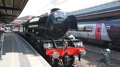 60103 Flying Scotsman At York (Uktransportvideos82) Tags: fourtrains nrm nem flyingscotsman 60103 4472