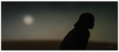 symphony of broken dreams (jooka5000) Tags: star wars actionfigure cinematic photography tatooine cinema frame darthvader missing storyline signature moon moonlight horizon series creativity imagination freshness jooka5000