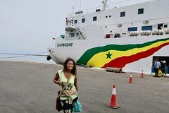 """Welcome to Senegal   About to take the boat from the Ziguinchor port to Dakar.  April 2017 #itravelanddance • <a style=""""font-size:0.8em;"""" href=""""http://www.flickr.com/photos/147943715@N05/34315962556/"""" target=""""_blank"""">View on Flickr</a>"""