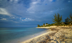 Turtle Cove afternoon (Krevo55) Tags: turksandcaicos caribbean paradise ocean sea water sand beach tropical providenciales islands seashore waves sun clouds sky nature outdoor landscape provo gracebay sunset turtlecove longexposure