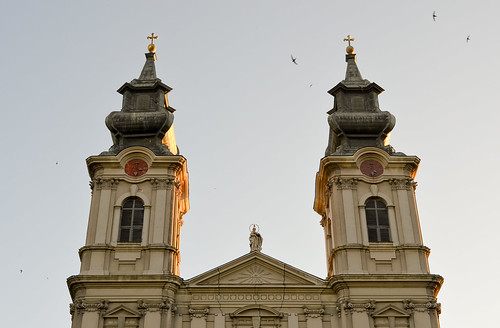 Cathedral of Saint Teresa of Avila in Subotica