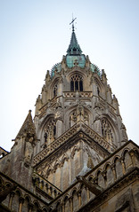 Bayeux Chathedral-spire (margatt2012) Tags: france cathedral gothic medieval normandy bayeux