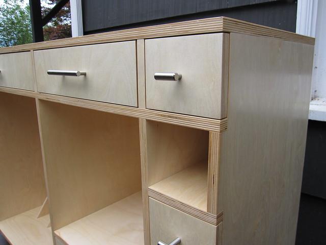 Baltic birch cabinets mf cabinets for Birch veneer kitchen cabinets