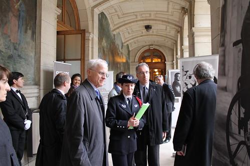 Opération Fil rouge de la sécurité routière en Sorbonne