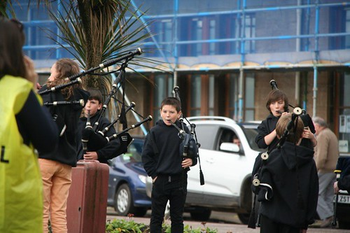 Kintyre Schools Novice Pipe Band