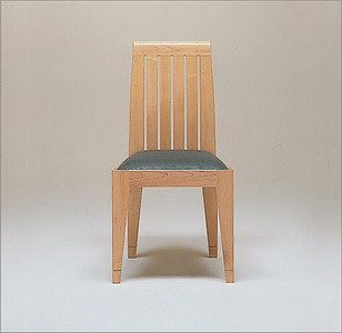 Conde House  Ohashi Low Back Side Chair  Conde House  Ohashi Low Back Side ChairSmooth BRClear Maple