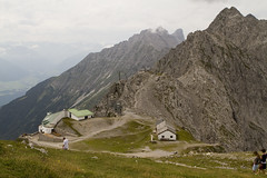 Cable car station on Hafelekar (BigFatMonkey) Tags: mountain austria innsbruck 2012 hafelekar