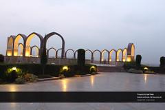 Pakistan Monument | Shakar Pariyan, Islamabad, Pakistan (Syed Tirmizi) Tags: pakistan islamabad shakarparian tirmizi pakistanmonumenet