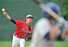 Lucas Sims (Kyle Hess Photography) Tags: atlanta rome sports kyle photography nikon baseball 14 lucas f tc 28 minor braves f28 league teleconverter sims hess 400mm 14x milb d3s