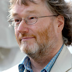 Iain Banks at the 2003 Edinburgh International Book Festival