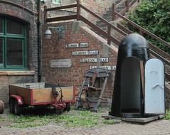 One-man Bomb Shelter (messy_beast) Tags: cambridge water museum technology steam beam sewage engines shelter bomb pumpingstation