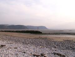 Low tide in Conwy Bay (selkovjr) Tags: beach rock bay sand tide low pebbles pebble bae groyne llandudno conwy gravel fishtail