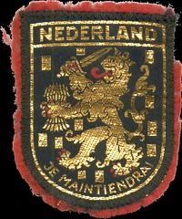 102 02 1982 Holland Patch (Dennis Brumm) Tags: holland netherlands amsterdam germany thenetherlands westgermany brd bundesrepublikdeutschland federalrepublicofgermany