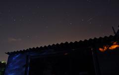 Shooting Star (Kai [WSM]) Tags: cambridge light sky night garden stars shower star nikon shed pollution shooting meteor d90 perseid afsdxnikkor18105mmf3556gedvr